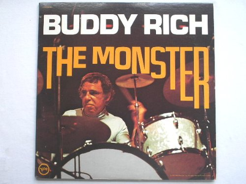 Rich, Buddy The Monster 2LP Verve SV6S8824 EX/EX 1960s double LP, US pressing, sleeve has export cut in spine Verve Sleeve