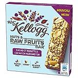 Kellogg's Barres Céréales Wkk Cocoa/Nuts 4 x 30 g