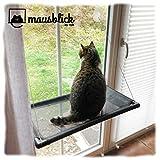 riijk Mausblick Katzenliege Fensterplatz, Perfekter Fensterliegeplatz für Katzen als Hängematte
