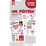 One Direction - Tattoo Sticker Pack 1