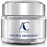 1pc : AC NATURE Deodorant, Organic And 100% Natural Ingredients, Aluminum Free, No Fragrances, Paraben Free, All...