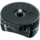 Manfrotto 627Base panoramique Tête Adapter (Noir)