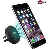 Support Téléphone Voiture Magnétique Brainwizz® Vent Magnet Aimanté Universel Fixation grille Ventilation Aération - Compatible smartphone, Tablettes et GPS