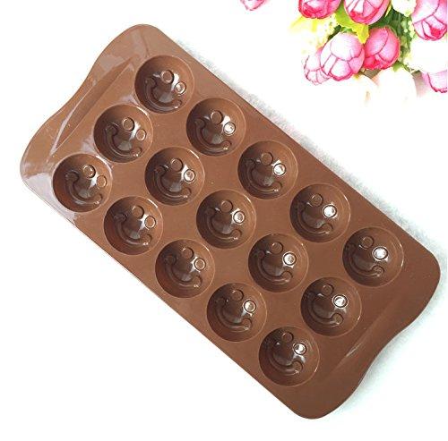 Generic Lächeln Gesicht Form Silikon Form Jelly \ \ Seife \ \ Schokolade Schimmel, DIY Backen Kuchen dekorieren Tools Küche Zubehör Backgeschirr -