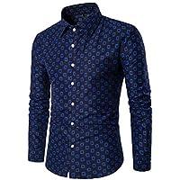 TWBB Herren Printing CardiganShirt Fit Pullover Langarmshirt Oberteile Longsleeve Sweatshirt Polo Shirt Tops preisvergleich bei billige-tabletten.eu
