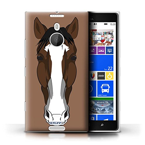 Kobalt® Imprimé Etui / Coque pour Nokia Lumia 1520 / Chat noir conception / Série Museaux Cheval