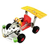 Engineering Vehicle Puzzle 3D Car Metal Assembly Model Building Blocks (02)