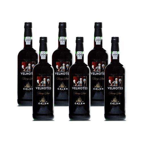 Portwein Calem Velhotes Tawny - Dessertwein- 6 Flaschen