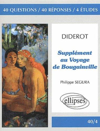 Supplment au Voyage de Bougainville, Diderot