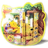 Kids Stationary Set   Pencil Gift Set   School Supply Set   Pencils And CAPS Eraser Sharpener Scale Mini Diary   8 Pcs (Winnie The Pooh)