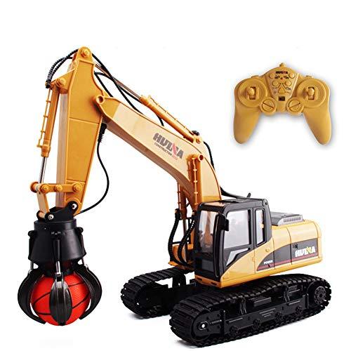 SOSAWEI 16 Channel Full Functional Professional RC Grab Machine,2.4G Crawler Full-Function Remote Control Grab Maschine Truck Toy.