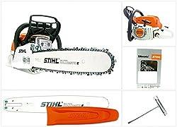 S/ägenspezi 40cm Schwert 325 4 Vollmei/ßelketten passend f/ür Stihl 026 MS 260 MS260