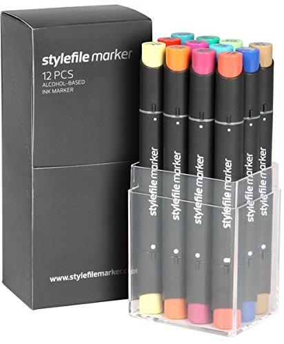 Stylefile Marker 12er Set Main B Colours