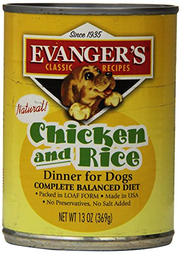 Classic Dog Can Chic Rice 12x13 by Evangers