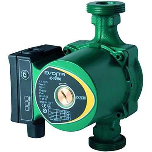 Bomba electrónica de bajo consumo para la circulación de agua en sistemas domésticos centralizadas de calefacción. Un solo botón para elegir el modo de funcionamiento, robado por LED Velocidad constante: 3curvas Presión proporcional: 6curvas f066b:...
