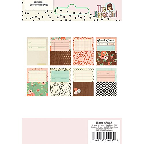 Multi-Colour Simple Stories The Reset Girl Dividers 23.7 x 16 x 0.3 cm Paper