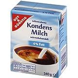 Leche condensada 4% Gut & Günstig 340 g ...