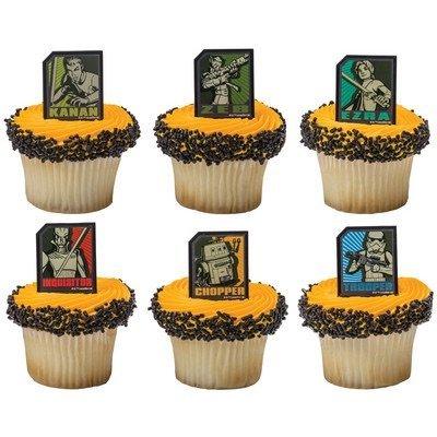 Star Wars Rebels Regiment Cupcake Rings - 24 ct by DecoPac