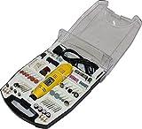 Mini-Schleifer Schleifmaschine 243 teilig Multischleifer inklusive Koffer 135 Watt