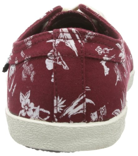 Globe Red Belly, Sneaker Unisex-Adulto Rosso (Rot (brick red/hawaiian print 19839))