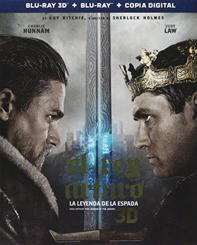 King Arthur: The Legend of the Sword (El Rey Arturo: La Leyenda de la Espada) BLU-RAY 3D + BLU-RAY + DIGITAL COPY (English, Spanish & Portuguese Audio & Subtitles) IMPORT