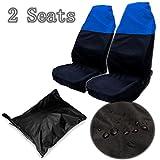 Alamor Copri Neri + Blu Car Seat Copri Resistenti Protezioni Universali