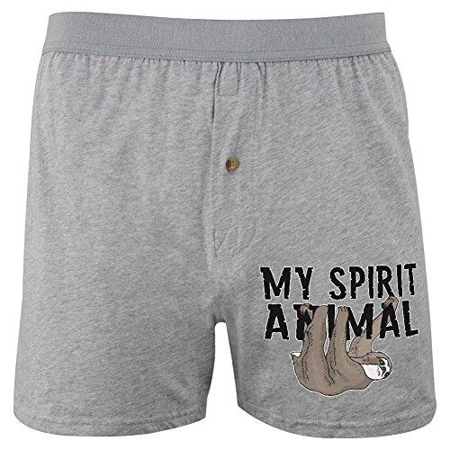 Sloth Is My Spirit Animal Soft Knit Boxer