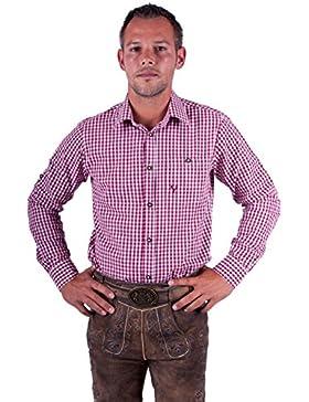 Almwerk Herren Trachten Hemd kar