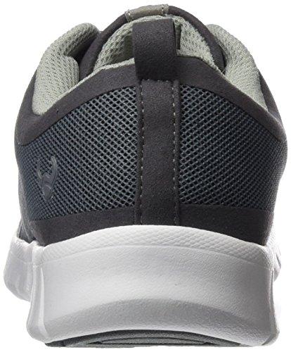 Suecos® Unisex-Erwachsene Alma Turnschuhe, Black (Schwarz), 50 EU Grau (Grey)
