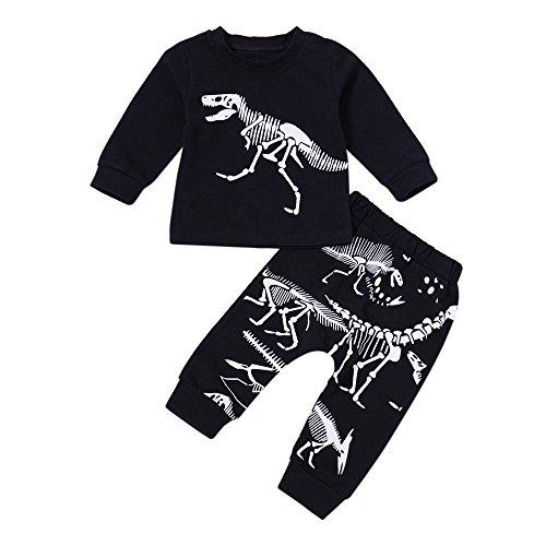 Btruely Pullover Set Kleinkind Unisex Kinderbekleidung Baby Clothes -