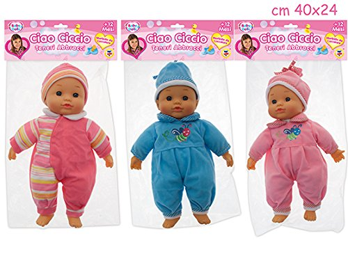 Merchandising - Ciao Ciccio Teneri Abbracci Bambola Corpo Soffice 30 Cm (Assortimento) (1 Accessorie)