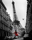 empireposter - Paris - La Vesta Rouge - Größe (cm), ca. 40x50 - Mini-Poster, NEU -