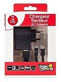 Chargeur secteur pour DSi XL/DSi/DS Lite/3DS XL/3DS Noir