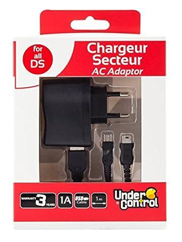Chargeur secteur pour DSi XL/DSi/DS Lite/3DS XL/3DS