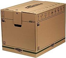 Bankers Box Transit Scatola Traslochi Extra Grande Fast Fold, Set da 5 Pezzi