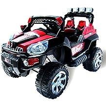 Elektro Kinderauto Jeep 801 mit 2 x 25 Watt Motor Elektro Kinderauto Kinderfahrzeug in mehreren Farben