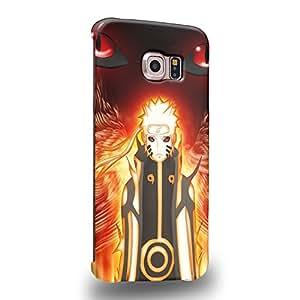 Case88 Premium Designs Naruto Namikaze Minato Coque protectrice pour Samsung Galaxy S6 Edge (pas Normal S6 !)