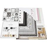 Designpapier-Block, Größe 30,5x30,5 cm, 50 Seiten, Paris, Skagen, Oslo, 50Blatt