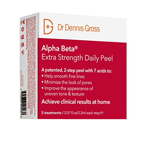 Dr Dennis Gross Skincare Alpha Beta Peel, Extra Strength - Pack of 5,