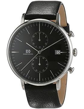 Danish Design Herren-Armbanduhr IQ13Q975 Analog Quarz Leder IQ13Q975
