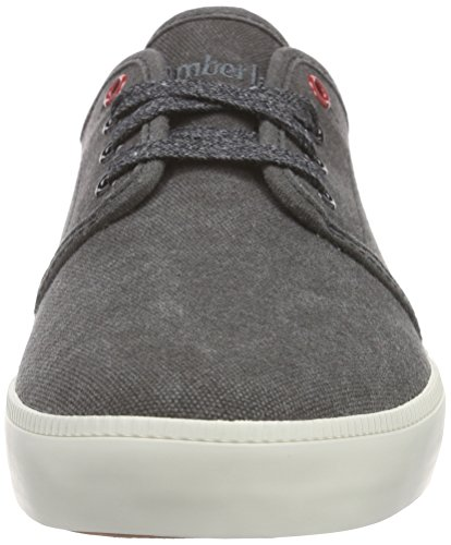 Timberland Newport Bay_Newport Bay Canvas Plain, Sneakers basses homme Noir (Black)