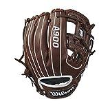 """Best Los guantes de béisbol Wilson - Wilson 2018A900–Guantes para mano derecha, marrón oscuro/blanco, 11.5"""" Review"""