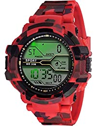 GLOSBY Mens Analog Round Dial Watch For Mens And Boys - B07BJ4CQQQ