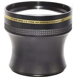 4.7x 52/58MM High Definition Conversion Telephoto AF Lens for Nikon D3000, D3100, D3200, D5000, D5100, D5200, D7000, D7100, D3, D4, D40, D40x, D50, D60, D70, D70s, D80, D90, D100, D200, D300, D600, D700 & D800 DSLR Cameras