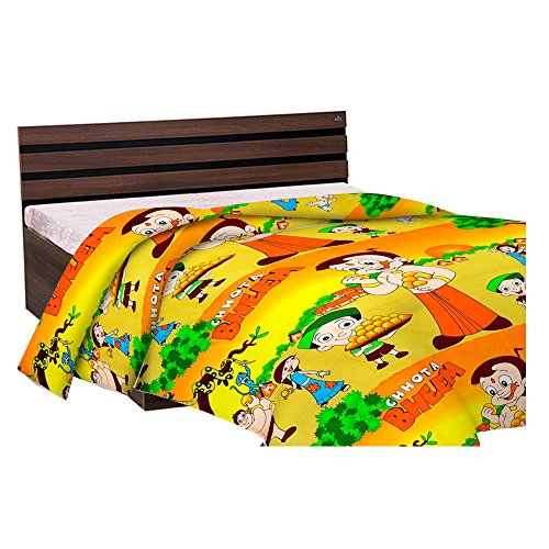 Factorywala Multi Color Cartoon Baby Blanket