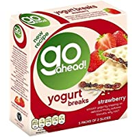 Go Ahead Yogur De Fresa Rompe 5 Por Paquete (Paquete de 6)