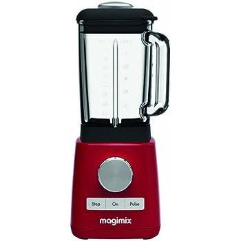 Magimix 11623 Batidora de vaso 1.8L 1200W Rojo - Licuadora (1,8 L