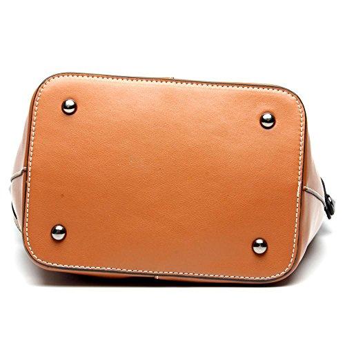 Sacchetto di spalla della cowboy di modo della benna della borsa delle signore Black