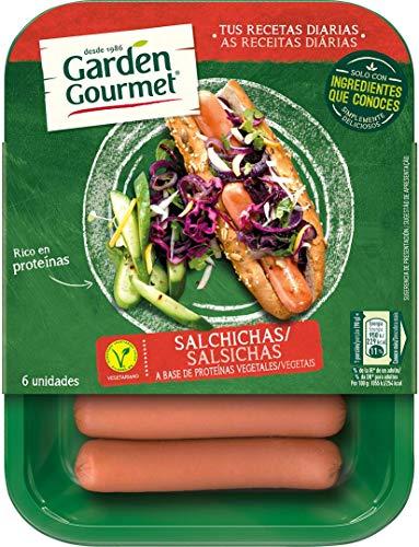 Garden Gourmet Salchichas  Vegetarianas - 0{cb26a7120ac03c3c5cbdbfffe7e89f23c238e0bd423a2839f391d47d562d9a08} carne - 180 g (6 unidades)