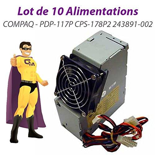 Pack x10 Stromversorgungen PC compaq Evo d510 SFF 175W PDP-117P CPS-178P2 243891-002 (Compaq Evo D510)